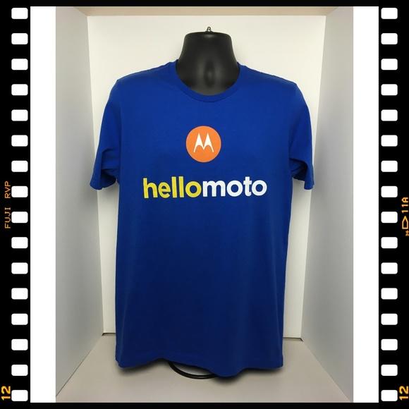 Bella Canvas Other - T-Shirt~Motorola~Hello~Moto~